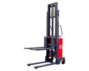 Manually Propelled, Powered Lifting Pallet Stacker