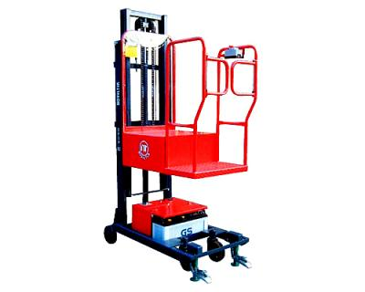 Semi-Powered Order Picker Stacker